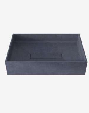 раковина из бетона производства мастерской malinkin.design