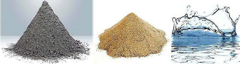 состав бетона для бетонной раковины