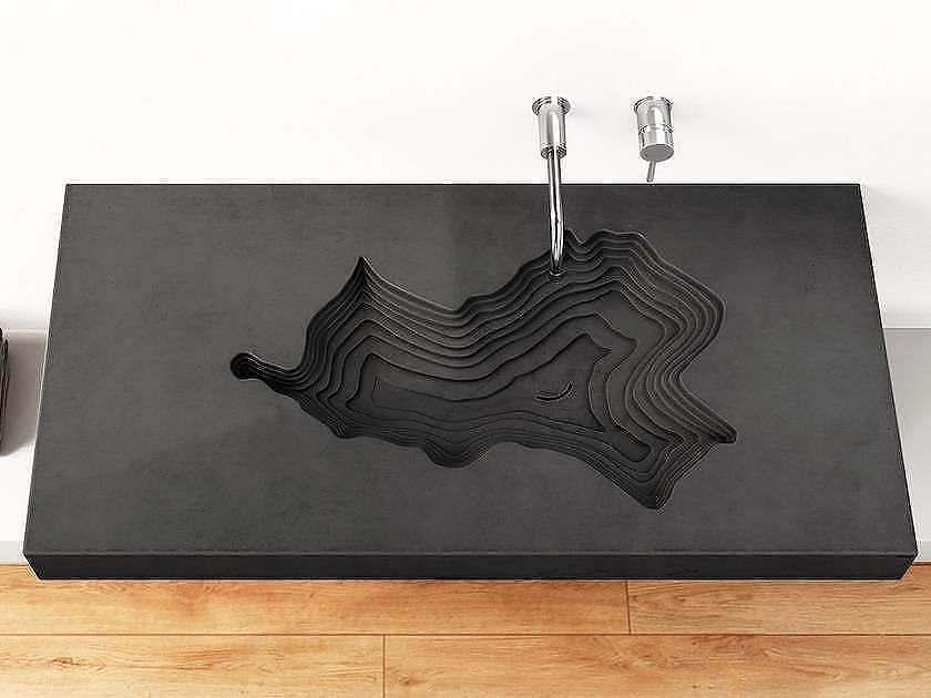 форма бетонной раковины